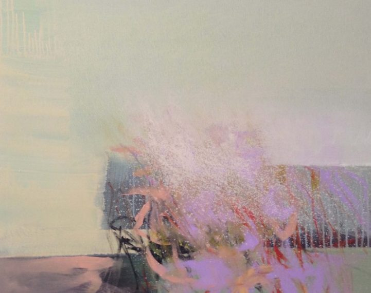 """Wind"" · Acryl auf Leinwand · 80 cm x 100 cm"