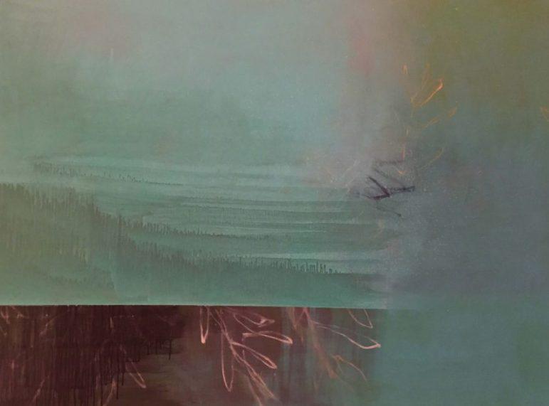 """""""Grundlos"""" · Acryl auf Leinwand · 160 cm x 120 cm"""