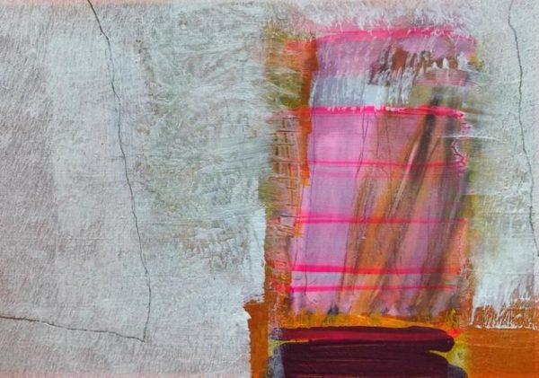 Acryl auf Papier / 14,7 x 10,5
