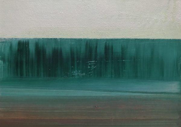 Acryl auf Papier · 14,8 cm x 10,5 cm